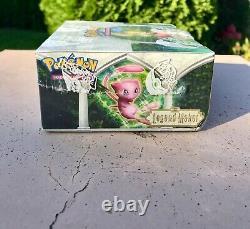 Pokemon EX Legend Maker Booster Box Factory Sealed 2005 Very Rare
