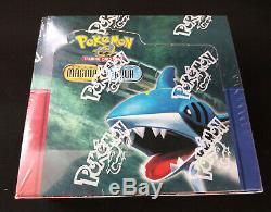 Pokemon EX Team Magma vs Team Aqua Booster Pack Box FACTORY SEALED
