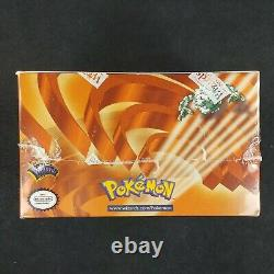 Pokemon Gym Heroes 1st Edition Booster Box English FACTORY SEALED WotC
