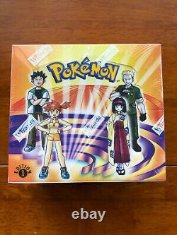 Pokemon Gym Heroes 1st First Edition Booster Box Factory Sealed RARE MINT
