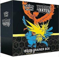 Pokemon Hidden Fates Elite Trainer Box ETB New Factory Sealed Reprint PreOrder