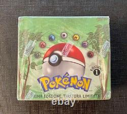 Pokemon (I T A) Booster Box Jungle 1st Edition Factory Sealed Italian
