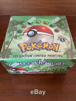 Pokemon Jungle 1st Edition Booster Box English FACTORY SEALED WotC