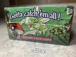 Pokemon Jungle Booster Box 1st Edition Factory Sealed