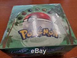 Pokemon Jungle Booster Box Unlimited FACTORY SEALED WOTC 1999 English
