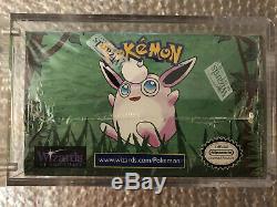 Pokemon Jungle Booster Box Unlimted Factory Sealed Wotc 1999