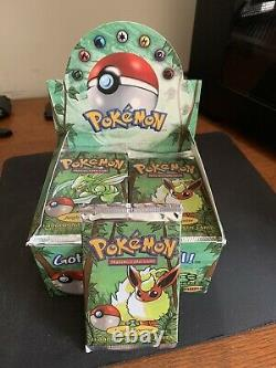 Pokemon Jungle Booster Pack Factory Sealed Straight From Booster Box