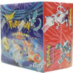 Pokemon Legendary Collection Booster Box FACTORY SEALED EXTREMELY RARE