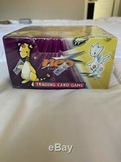 Pokemon Neo Destiny Unlimited Factory Sealed Booster Box WOTC 2002