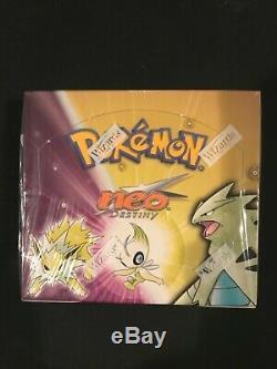 Pokemon Neo Destiny Unlimited Factory Sealed Box