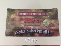 Pokemon Neo Discovery 1st Edition Booster Box Factory Sealed US English