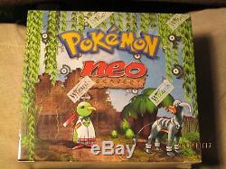 Pokemon Neo Discovery Booster Box English Factory Sealed English NEW