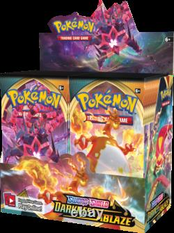 Pokemon S&s Darkness Ablaze Factory Sealed Booster Box In Stock Free Shipping