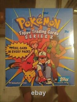 Pokemon Series 2 Factory-sealed Booster Box (tv Animation Edition)
