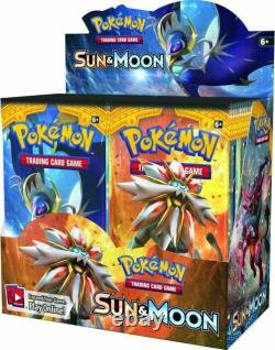 Pokemon Sun and Moon Base Set Booster Box 36 Packs Factory Sealed