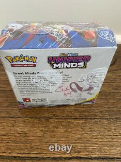 Pokemon Sun and Moon Unified Minds Booster Box Factory Sealed and Free Shipping