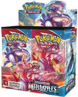 Pokemon Sword & Shield BATTLE STYLES FACTORY SEALED 36 Pack Booster Box