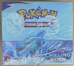 Pokemon Sword & Shield Chilling Reign Booster Box Factory Sealed In Hand
