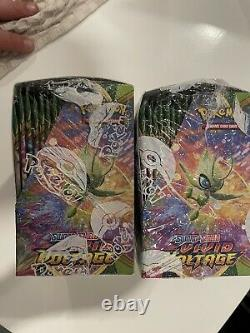 Pokémon Sword and Shield Vivid Voltage Booster Box 2 Factory Sealed Boxes