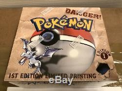 Pokemon TCG Fossil 1st Edition Factory Sealed Booster Box Wizards