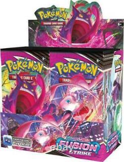 Pokemon TCG Fusion Strike Booster Box Factory Sealed PRESALE SHIPS 11/12/2021
