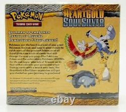 Pokemon TCG HEARTGOLD SOULSILVER Booster Box FACTORY SEALED