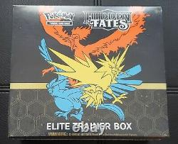 Pokemon TCG Hidden Fates Elite Trainer Box FACTORY SEALED IN HAND