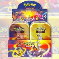 Pokemon TCG KANTO POWER 10 Mini Tin Display Case Box FACTORY SEALED Charizard