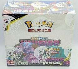 Pokemon TCG Sun & Moon UNIFIED MINDS Booster Box 36 Packs FACTORY SEALED NEW