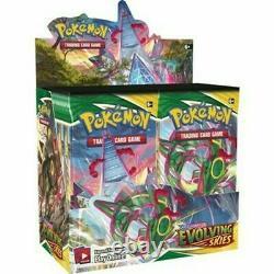 Pokemon TCG Sword & Shield Evolving Skies Factory Sealed Booster Box