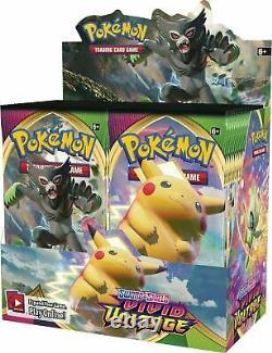 Pokemon TCG Sword & Shield Vivid Voltage Factory Sealed Booster Box 36 Packs
