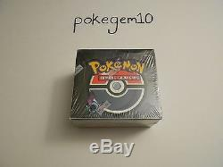 Pokemon Team Rocket 1st Edition Booster Box Factory Sealed