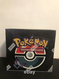 Pokemon Team Rocket 1st Edition Booster Box Factory Sealed Mint