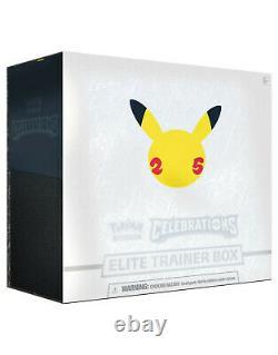 Pokemon Trading Card Game CELEBRATIONS Elite Trainer Box Factory Sealed PRESALE