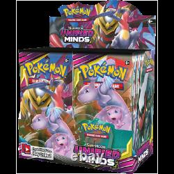 Pokemon Unified Minds Sun & Moon Booster Box Factory Sealed Box
