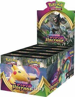 Pokemon Vivid Voltage Build & Battle Box Display 10 Prerelease Kits Factory Seal