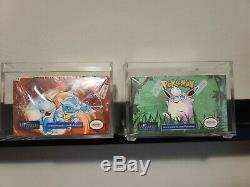 Pokemon WOTC Factory Sealed Booster Box Set Base Set + Jungle 1st Edition