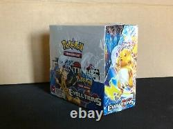 Pokemon XY Evolutions Booster Box 36 Packs of 10 Cards Factory Sealed Unopened