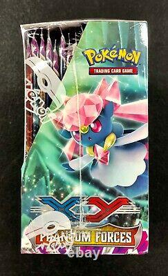 Pokemon XY X&Y Phantom Forces Brand New Factory Sealed Booster Box