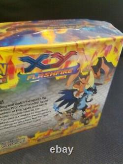 Pokemon X&y Flashfire Booster Box Factory Sealed Charizard
