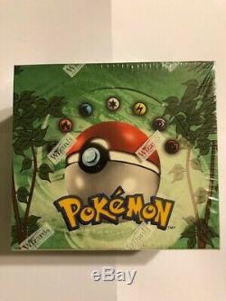 RARE Pokémon 1999 JUNGLE Booster Box FACTORY-SEALED New ENGLISH 36 Packs WOTC