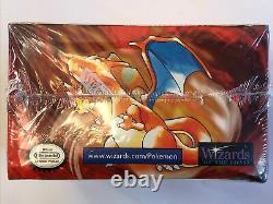 Rare 1999 Pokemon Booster Box Factory Sealed Base Set WOTC Wizards of The Coast