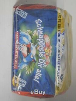 Rare Pokemon 1st Edition German Base Booster Sealed Box Factory Sealed! Wow