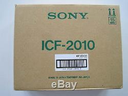 SONY ICF-2010 RECEIVER BRAND NEW, STILL IN FACTORY SEALED BOX