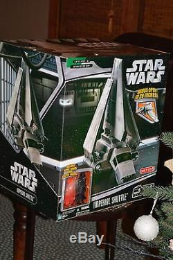STAR WARS SAGA COLLECTION IMPERIAL SHUTTLE NEW IN FACTORY SEALED BOX MISB TARGET