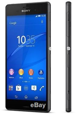 Sony Xperia Z3 D6603 16GB Black Smartphone (Factory Unlocked & Sealed Box)