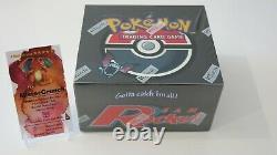Team Rocket Booster Box Factory Sealed NM-Mint Pokemon 36 Packs PSA Charizard