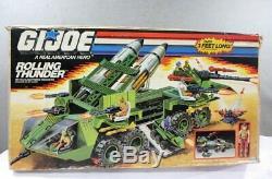 Vintage Mint In Box Factory Sealed 1988 Hasbro Gi Joe Rolling Thunder