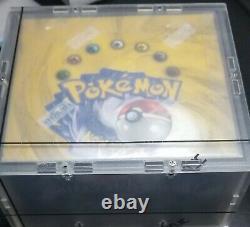 Wotc 1999 Pokemon Base Set Booster Box Factory Sealed Blue Wing Charizard