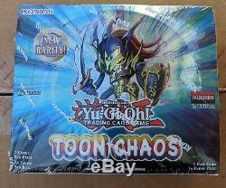 YuGiOh Toon Chaos Booster Box 1st Edition Factory Sealed English Free Ship